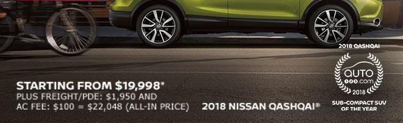 The Nissan Qashqai